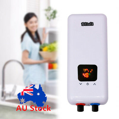 Electric Instant Hot Water Heater Bathroom Kitchen Tap Faucet Hot Water System
