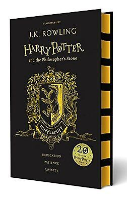 Harry Potter And The Philosopher's Stone Hufflepuff Edition Hardback Book New