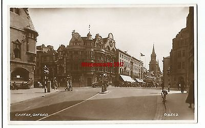 Oxford Carfax Real Photo Vintage Postcard 2.6