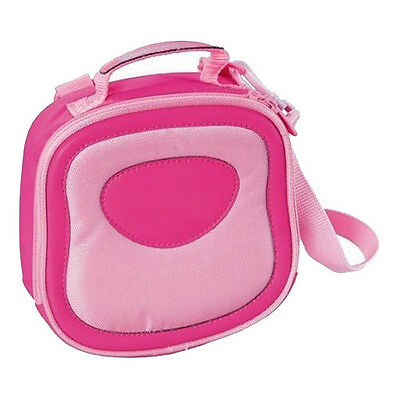 Pink Digital Camera Carry Case Bag For Vtech Kidizoom Twist Plus Junior Pro 3D