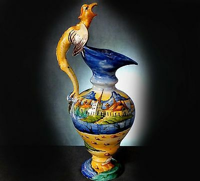 WONDERFUL  RARE CANTAGALLI  EWER in the CLASSICAL STYLE