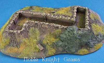 Company B Resin Terrain 28mm Z Trench Pack MINT