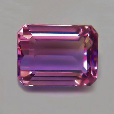 16.71 ct  IF!  Toller 17 x 13 mm Bolivien Oktagon Ametrin