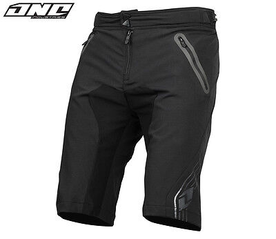 ONE INDUSTRIES ION MTB BIKE SHORTS BLACK cycling trail riding mens