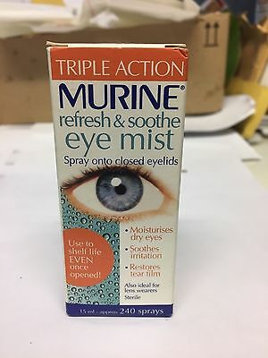 Murine Refresh & Soothe Eye Mist - 15Ml * 240 Sprays