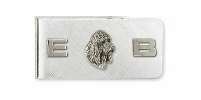 Pbgv Petit Basset Griffon Vendeen Money Clip Jewelry Silver Handmade Dog Money C