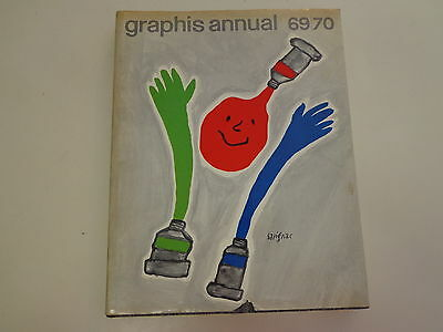 Graphis Annual 69/70 1969 Advertising Design Layout Typography