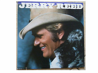 Jerry Reed * Ready * Us Vinyl Lp (1983) Rca Victor Ahl1-4692 Plays Great