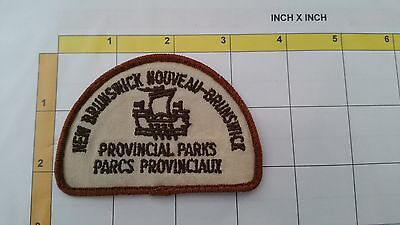 Canada New Brunswick Provincial Parks Rangers Obsolete Dept Officer Patch