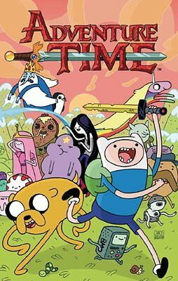 Adventure Time (Vol.2)  Paperback Book  2013 by Shelli Parline and Braden Lamb