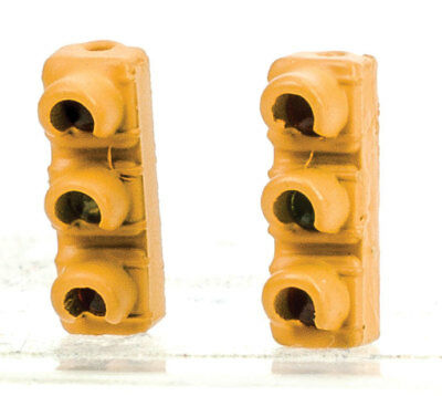 Walthers HO Scale 1960s-Style Traffic Light 2-Pack Non-Operating Single Hanging