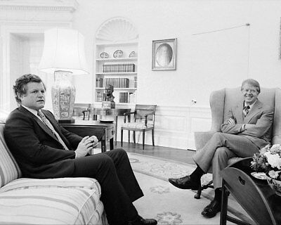 President Jimmy Carter and Senator Ted Kennedy 11x14 Silver Halide Photo Print