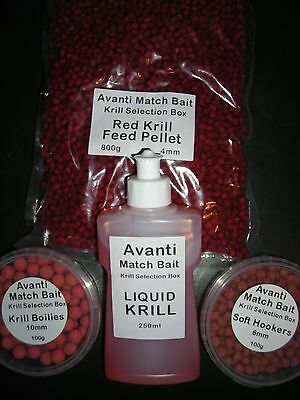 KRILL Session Pack ( Pellets,Flavour,Hookers & Mini Boilies )