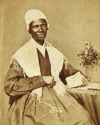 Sojourner Truth Seated Portrait 11x14 Silver Halide Photo Print