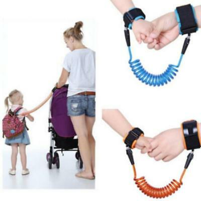 Anti-Lost Wrist Link Strap Leash For Toddlers Kids Safety Harnes New LA