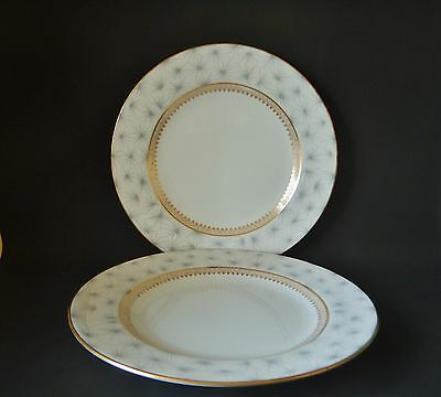 TWO SPODE THISTLEDOWN Y5016 230mm PLATES