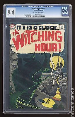 Witching Hour (1969 DC) #1 CGC 9.4 0956263013