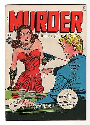 Murder Incorporated, #1, 1948, VF, Super Shape!