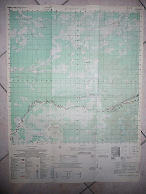 6633 ii - RARE MAP - Ap Phuoc Thien, AIRFIELD, SPECIAL FORCES BASE - Vietnam War