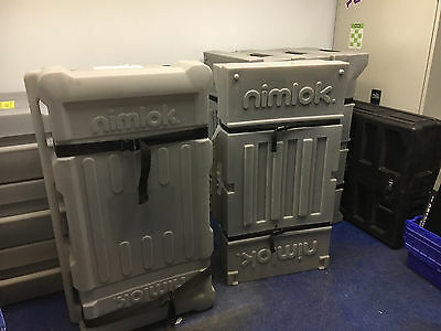Nimlok -Trade Show Cases - Lot of 8 WMC (4) and MCW42 (4)