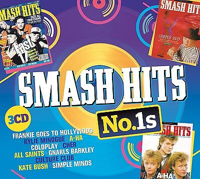 SMASH HITS No.1s  3 CD Various Artists (New Release 23rd June 2017)