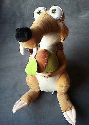 Ice Age 3 Dawn Of The Dinosaures  Scrat Soft Toy  With Tags