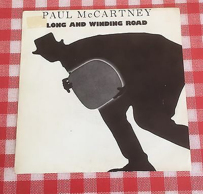 "Paul McCartney - Long And Winding Road - Rare Spain Promo 7"" Vinyl / The Beatles"