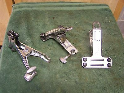 Lot of 3 Manfrotto 175 Spring Clamp Studio Lighting Autopole