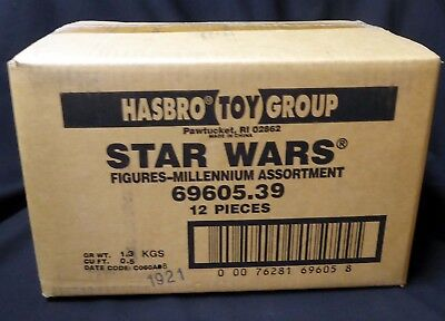 Star Wars Action Figure Case 69605.39 Factory Sealed Kenner Hasbro 1998