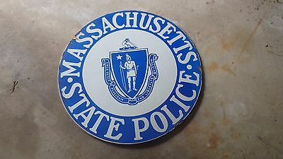 Unique Massachusetts State Police Sign Mass State Trooper Mass Highway Patrol