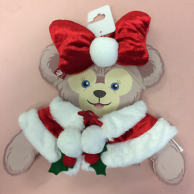 """NEW Disney Parks SHELLIE MAY Christmas Holiday 17"""" Duffy Bear Costume Outfit"""