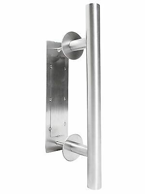 Stainless Steel Wooden Barn Sliding Door Flush Pull & Handle Hardware Set Parts