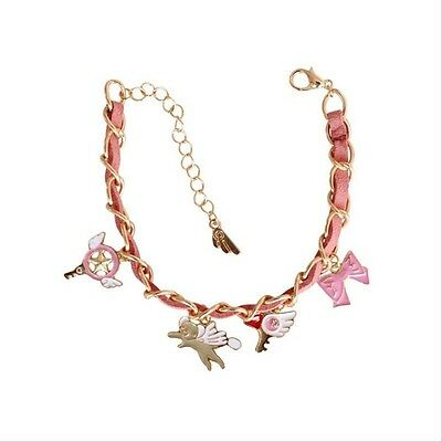 Anime Card Captor Sakura Kero Star Wand Kinomoto Sakura Bracelet Cosplay Jewelry