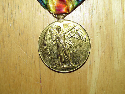 WW1 British Victory Medal named Miller