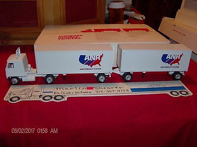 Anr Freight System Trucking Doubles Winross Truck