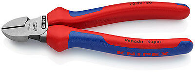 Knipex 70 02 160 Diagonal Side Cutters 160mm 75361 55499