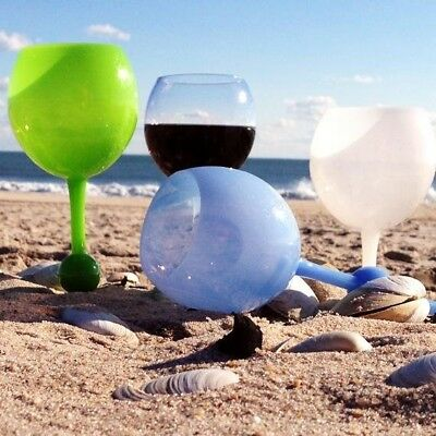 BEACH GLASS Floating Glass For The Pool. Great For Picnics, Camping, Beach, Snow