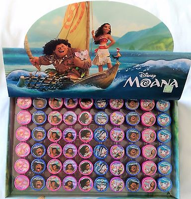 Disney Moana Self Inking Stamper Pencil Topper Kids Party Favor Bag Filler