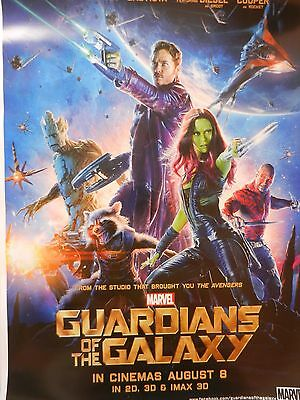 Guardians Of The Galaxy  Movie Poster  Double Sided