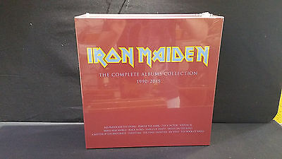 IRON MAIDEN - Collectors Box:  Complete Albums Collection 1990 - 2015 - 3 x LP