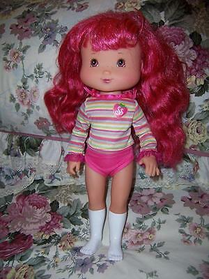 Doll Strawberry Shortcake Play Date Large Tcfc 2006 Red Hair Original Top