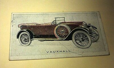 1923 VAUXHALL 23/60   Orig Wills Cigarette Card New Zealand