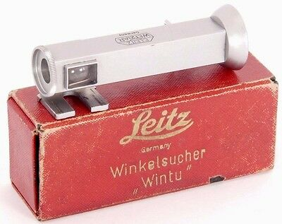 RARE!!! Leitz WINTU Right-Angle Finder Angle Viewfinder for LEICA 35mm Cameras