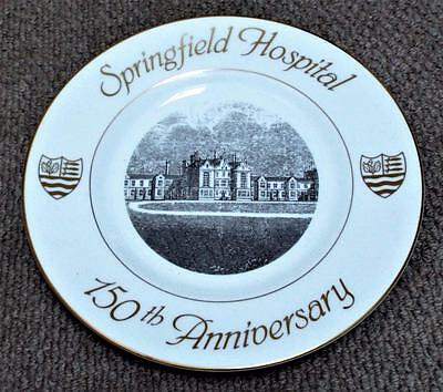 1990 Springfield Hospital 150th Anniversary Commemorative Plate - Tooting
