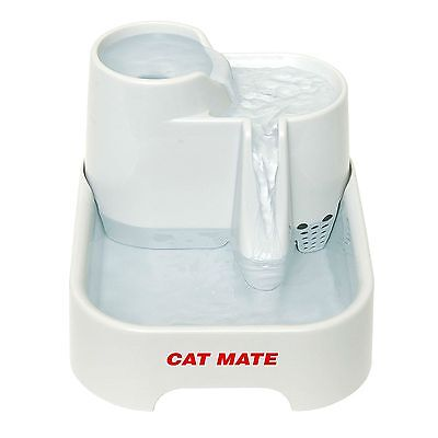 Cat Mate Fresh Water Drinking Fountain For Cats Small Dogs Feeder New Free Post