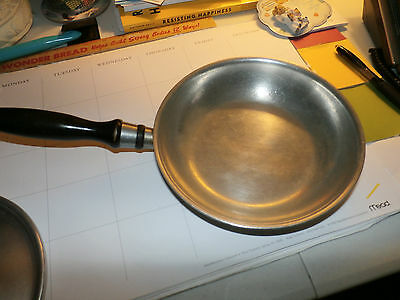 "Vintage Wear-ever 7 1/2"" Frying Pan Skillet & Lid with wooden handle TACU Co."