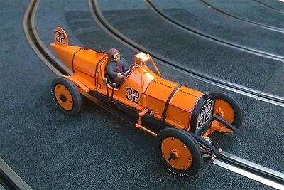 "OSTORERO ODG230 Marmon ""Wasp"" orange - Ray Harroun 1911 # 32 1:32 Slot Car NEW"