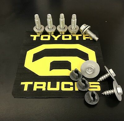 Toyota Tundra  Factory Metal Skid Plate Bolts 2007-2019