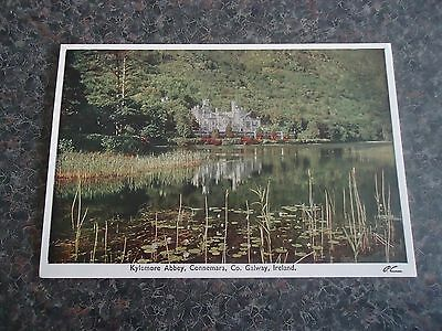 Postcard Kylemore Abbey Connemara Co Galway Ireland 1950S/60S