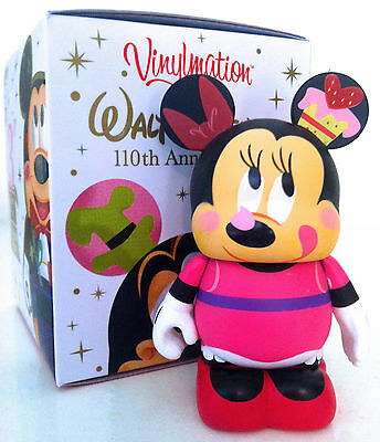 "DISNEY VINYLMATION 3"" 110th ANNIVERSARY SERIES MINNIE MOUSE JAPAN TOKYO FIGURE"